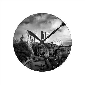 York Minster in the Sun Wall Clock