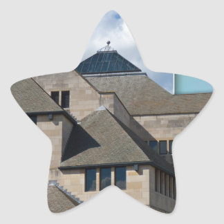 York Modern architecture out of bounds Star Sticker