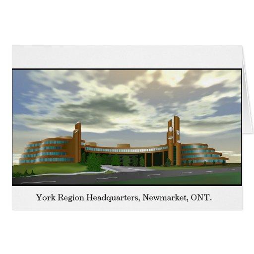 York Region Headquarters Cards