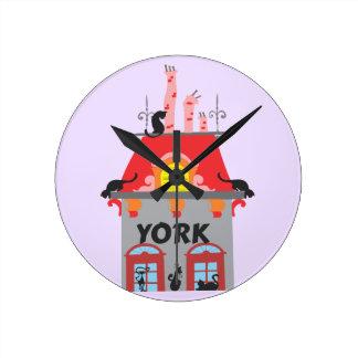 York Round Clock