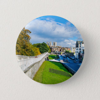York Walls and Minster 6 Cm Round Badge