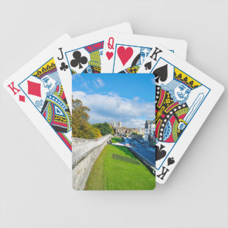 York Walls and Minster Bicycle Playing Cards