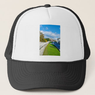 York Walls and Minster Trucker Hat