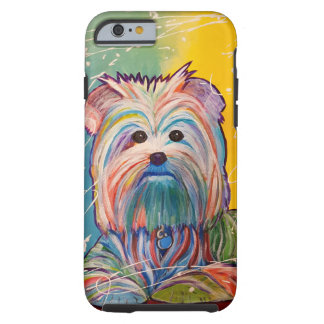 Yorkie Art phone case