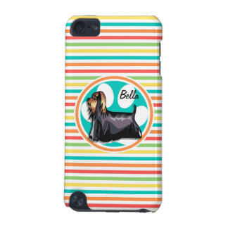 Yorkie Bright Rainbow Stripes iPod Touch 5G Case