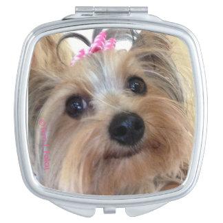 Yorkie Compact Mirror