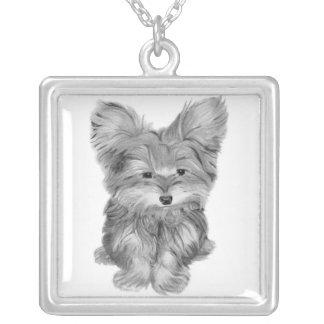 Yorkie Dog Necklace