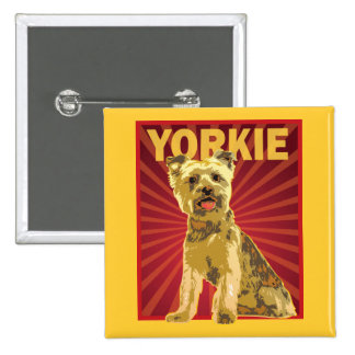 Yorkie Dog Owner Pins