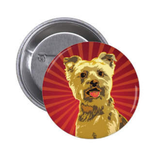 Yorkie Dog Owner Button