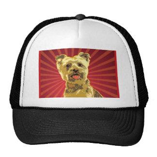 Yorkie Dog Owner Trucker Hats