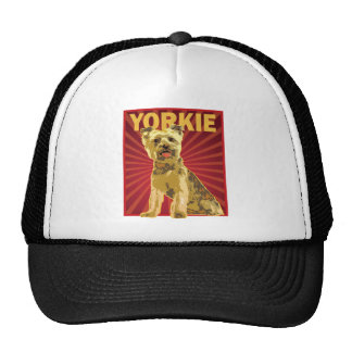 Yorkie Dog Owner Hats