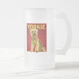 Yorkie Dog Owner Coffee Mugs