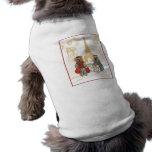 Yorkie Eiffel Tower Paris Pet Tshirt