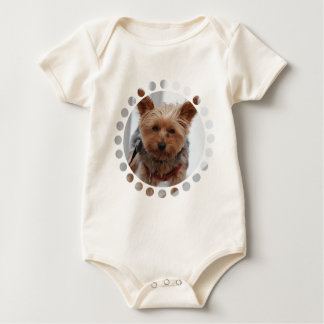 Yorkie  Infant Baby Bodysuit
