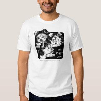 Yorkie - It's Puppy Love Tee Shirt
