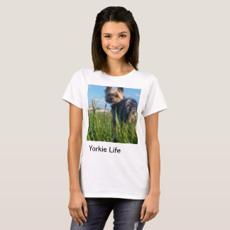 Yorkie Life: outdoors tee. T-Shirt