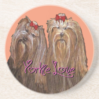 Yorkie Love Collection Coaster