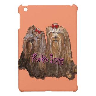 Yorkie Love Collection Cover For The iPad Mini