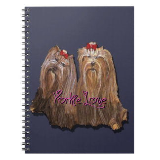 Yorkie Love Collection Notebook
