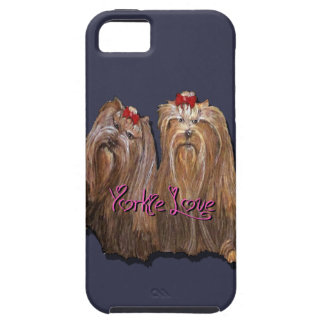 Yorkie Love Collection Tough iPhone 5 Case
