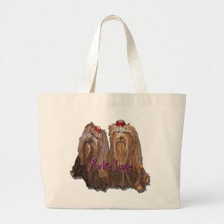 Yorkie Love - Jumbo Tote Bag