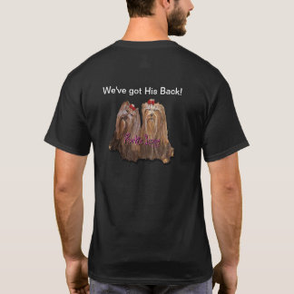 Yorkie Love - Men's T-shirt