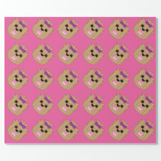 Yorkie Love Wrapping Paper