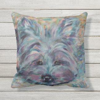 Yorkie Outdoor Cushion