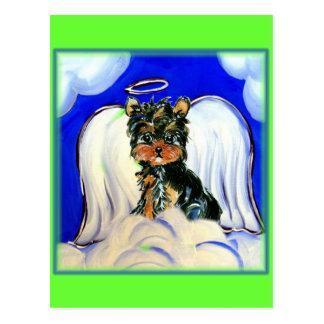Yorkie Poo Angel Postcard