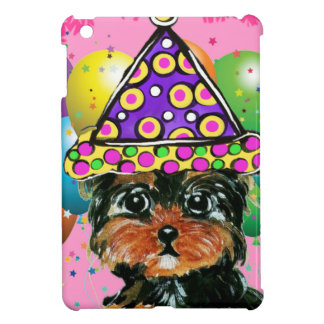 Yorkie Poo Party Dog Case For The iPad Mini