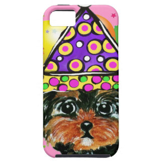 Yorkie Poo Party Dog Case For The iPhone 5