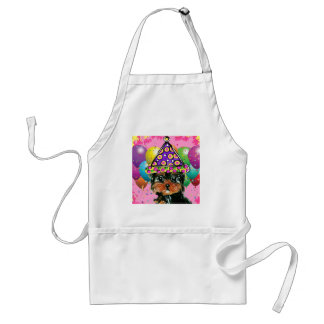 Yorkie Poo Party Dog Standard Apron