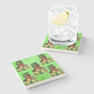 Yorkie Poo Stone Beverage Coaster