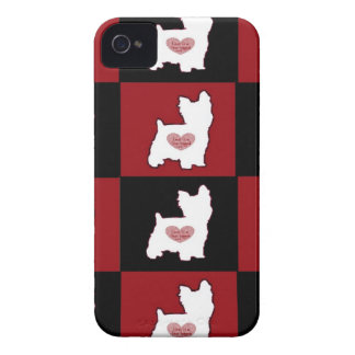 Yorkie/ Puppy Love iPhone 4 Cover