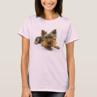 Yorkie T (Pink) T-Shirt