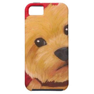 Yorkie Tough iPhone 5 Case