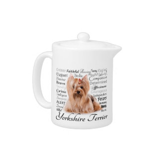Yorkie Traits Teapot