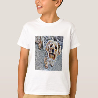 Yorkie Yorkshire Terrier Colored T-Shirt