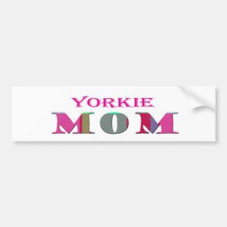 YorkieMom Bumper Sticker