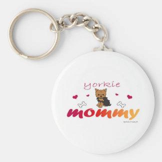 YorkieMommy Key Ring