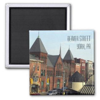 YorkPA-Beaver Street Square Magnet