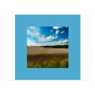 Yorkshire Blur in the border Postcard