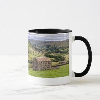 Yorkshire Born & Bred + Swaledale image Mug