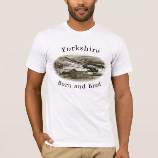 Yorkshire Born & Bred T Shirt