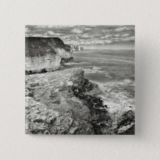 Yorkshire coast 15 cm square badge