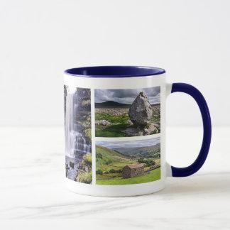 Yorkshire Dales multi image Mug