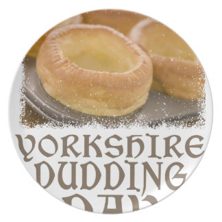 Yorkshire Pudding Day - Appreciation Day Plate