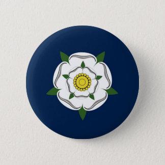 yorkshire region flag british county britain great 6 cm round badge
