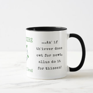 "Yorkshire ""See all, 'ear all"" Mug"