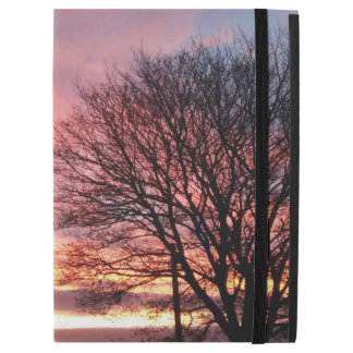 "Yorkshire sunset pink evening sky iPad pro 12.9"" case"